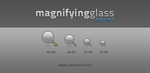 Magnifying Glass Icons + PSD by omercetin