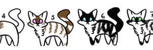 FREE ADOPTS (CLOSED) by SilverFeather-Adopts