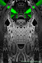 castle of the evil android's skull by fraterchaos