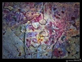 Rock with curious colors by AStoKo by AStoKo