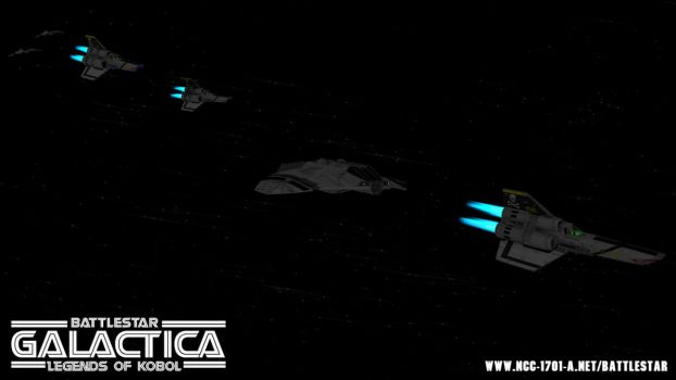Galactica - Raiders vs Vipers by STLegends