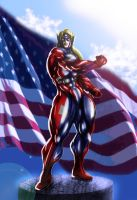 Truth, Justice and the American Way by Soviet-Superwoman