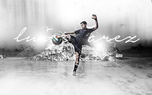Luis Suarez Wallpaper by MorBarda