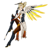 Overwatch - Mercy by GR-the-queen