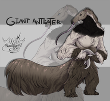 AUCTION | GIANT ANTEATER [CLOSED] by FrossetHjerte