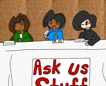 OC Panel [Questions for Characters] by Allstarman