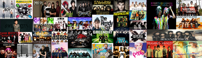 my favorite bands 2 by botdf-bvb