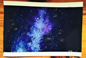 Violet/Blue Galaxy by MadCalanchoe