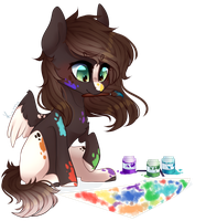 (YCH) Little Artist by Skimea