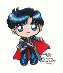 Sailor Moon - Chibi Prince Endymion by sakkysa