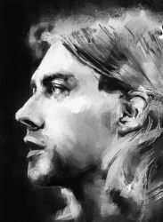 Kurt Cobain by NeedsMoreReverb