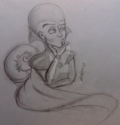 Quick art-Megamind with Minion by Hedenus