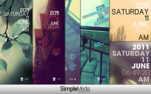 Rainmeter - Simple Media 1.1 by lilshizzy