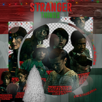 Pack Png - Stranger Things. by ValentinaDontiWanna