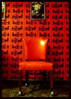 Red Chair by Naivetee