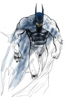 batman experience with color by mikemaluk