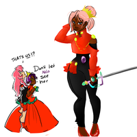 Utena and Anthy Fuse by victoriaisaboy