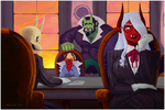 LM: Quinn vs Parerin - meeting of the minds by Dettan-arts