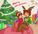 SS - Spamano Christmas by Chary9