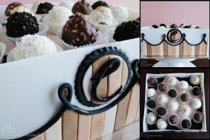Truffle Box Mudcake by cakecrumbs