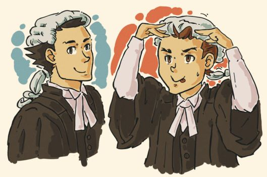 PW: Barrister Gowns by Trillzey