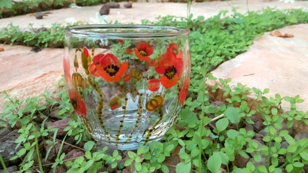 Glass-poppies2-4 by zlatvic