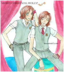 Those Weasley Twins by insomniel