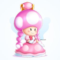 Princess Toadette by AlcyoneAX