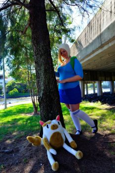 Hide and Seek with Fionna and Cake! by UndesiredValentine