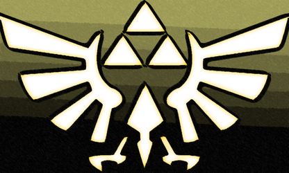 Hylian Crest by TheGamingArchivist