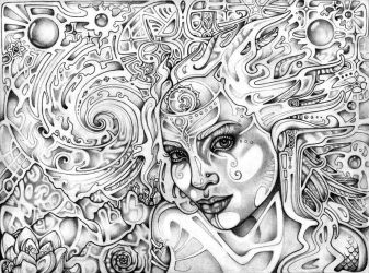Astral Perception by lauraborealisis