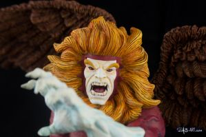 [Garage kit painting #09] Griffin bust - 011 by DasArt