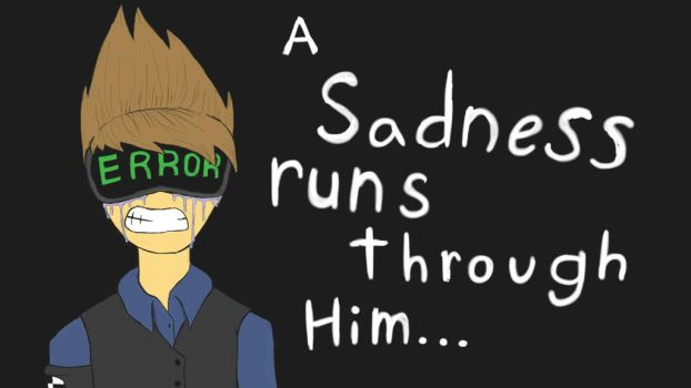 Sadness Runs Through Him (future tom) by kittyscittles