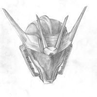 TF:P Soundwave Pencil by DeviantDolphinART