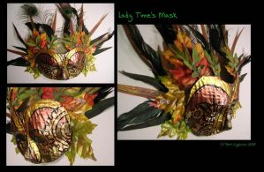 Lady Time's Mask by SpaceTurtleStudios