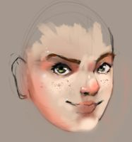 Quick 15 minutes face training by HaluzCZ