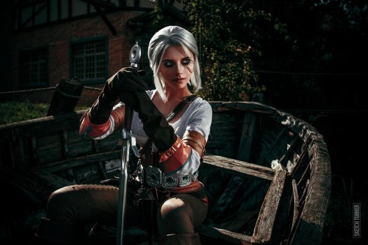 Witcher 3: Wild Hunt (Ciri) by Shinkarchuk