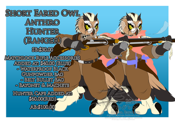 [Auction] - Short Eared Owl Hunter - FINISHED by Algren-Hayabusa