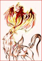 Okami - Breath of fire by Grypwolf