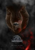 Jurassic World T-Rex by sentinelprime99