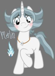 MLPNG: Necroverse: Merlin by Natgasher