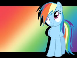 Rainbow Dash Wallpaper by Arceus55