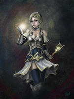 Lady Lux of the luminous by Penator
