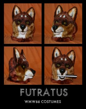 Futratus head by WMW66-costumes