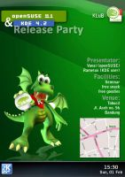 OpenSUSE+KDE RP poster by abz89