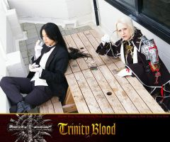 Trinity Blood Cafe Encounter 4 by sonialeong