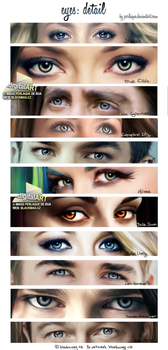 Digital Painting - eyes by perlaque
