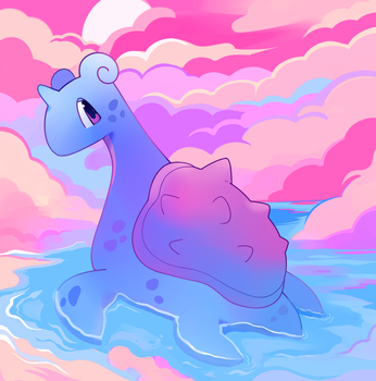 Lapras by HappyCrumble