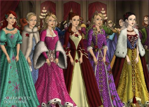 Disney Tudor Princess Christmas Ball by ivanovichmr