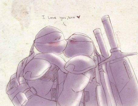 i love you, bro by Emaberry